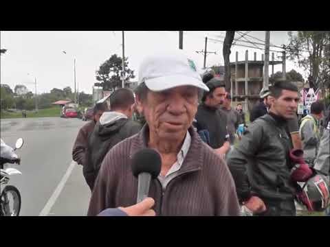 Ambulancia Mato Tres  Mujeres en Popayán Cauca.