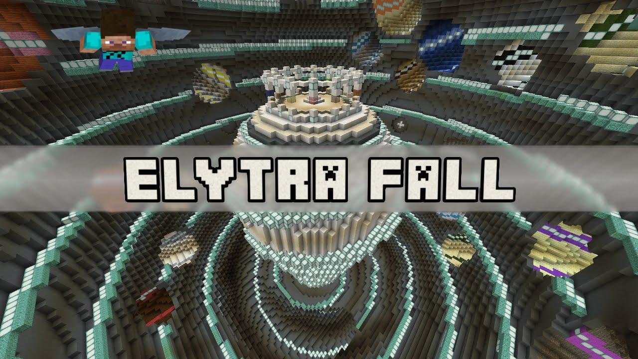 Скачать Карту для Майнкрафт Elytra Fall