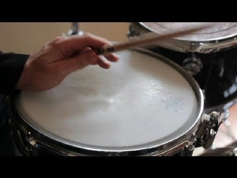 How to Make a Quiet Drumstick : Drum Techniques