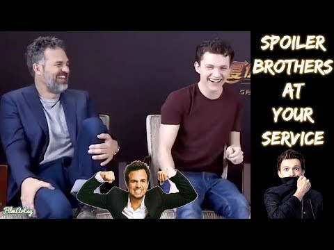 Avengers: Infinity War - When Hulk Doesn't Show Up, Spider-Man Helps! - Spoiler Brothers Interview