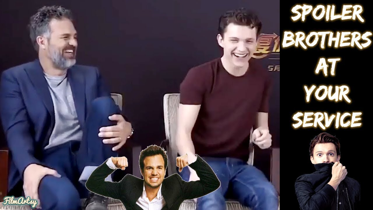 Avengers: Infinity War - When Hulk Doesn't Show Up, Spider-Man Helps! - Spoiler Brothers Interv