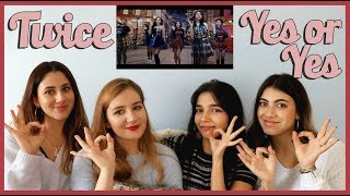 TWICE - YES OR YES MV REACTION