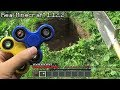 REALISTIC MINECRAFT IN REAL LIFE NEW FIDGET SPINNER ~ IRL ANIMATION / The Best Episode