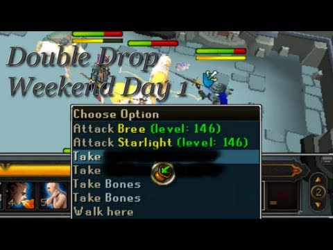 Runescape: eWax's Double Loot Weekend Day 1