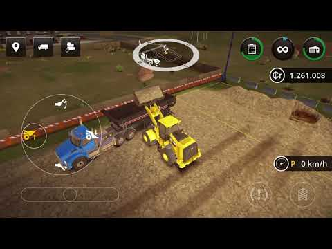 Construction Simulator 2 - #10 Deer Street Road Construction - Gameplay