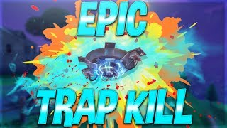 Epic Trap Kill! Fortnite Battle Royale Crazy Win Streak! 4 Victory Royale's In A Row!