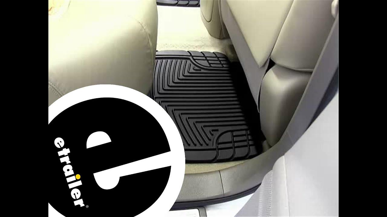 Rubber floor mats nissan xterra - Review Of The Weathertech Rear Floor Mats On A 2010 Nissan Murano Etrailer Com