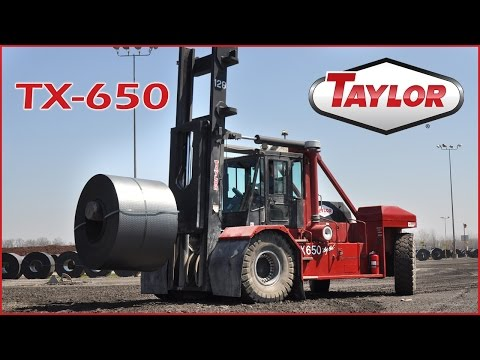 Taylor TX-650L and TX-650S - Servicing the Steel Industry