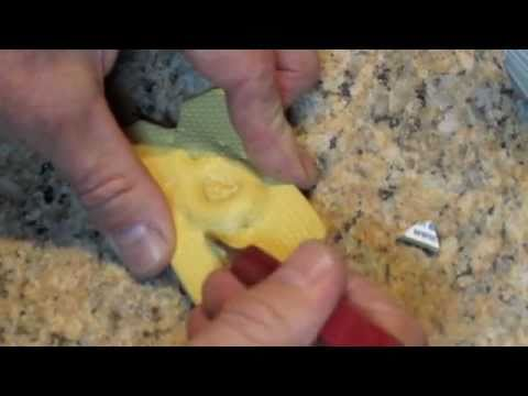 how to make a mould for casting silver
