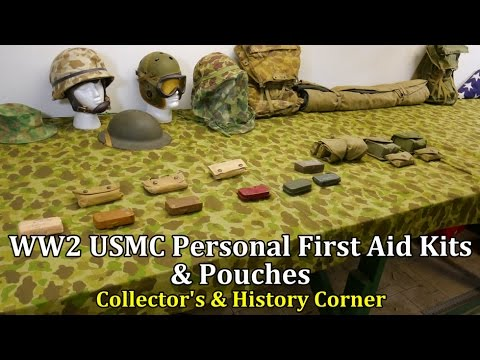 World War 2: USMC Personal First Aid Kits and Pouches | Collector