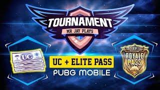 PUBG MOBILE TOURNAMENT | ELITE PASS & UC GIVEAWAY