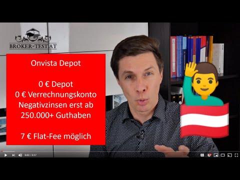 Onvista Depot: 0 € Depotgebühr, Flat-Fee Ordergebühr von 7 €, nicht steuereinfach