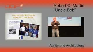 """Oop 2015 Keynote - Robert C. Martin (""""uncle Bob""""): Agility And Architecture"""