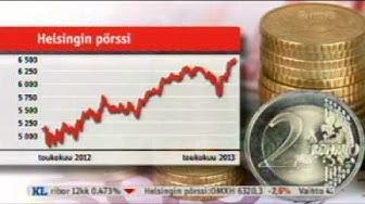 Uutiset - Pörssikurssit laskivat äkisiti 23.5.2013