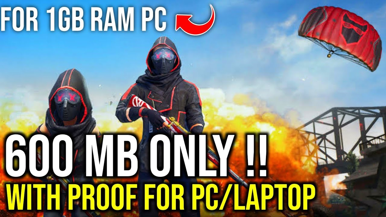Download PUBG For 1GB Ram PC in Just 600MB | Without Graphic Card | Low End  PC | No Lag