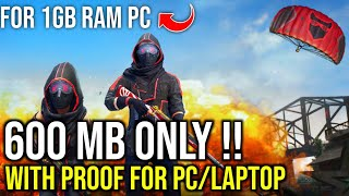 Download PUBG For 1GB Ram PC in Just 600MB   Without Graphic Card   Low End PC   No Lag