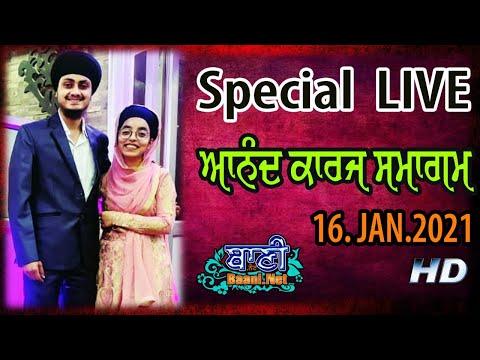 Part-1-Anand-Karaj-Samagam-Jaspal-Singh-And-Harpreet-Kaur-16-Jan-2021-G-K-1-Pahariwala