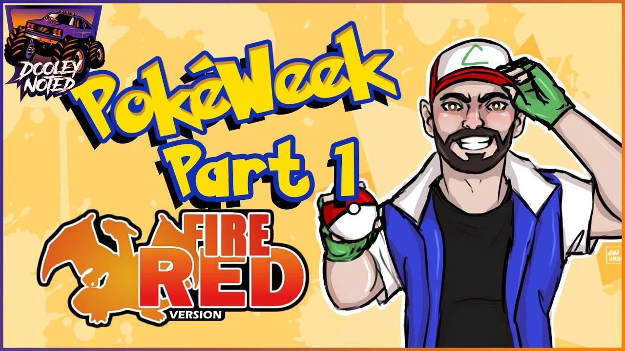 PokeWeek Part 1   Jeremy Plays Fire Red
