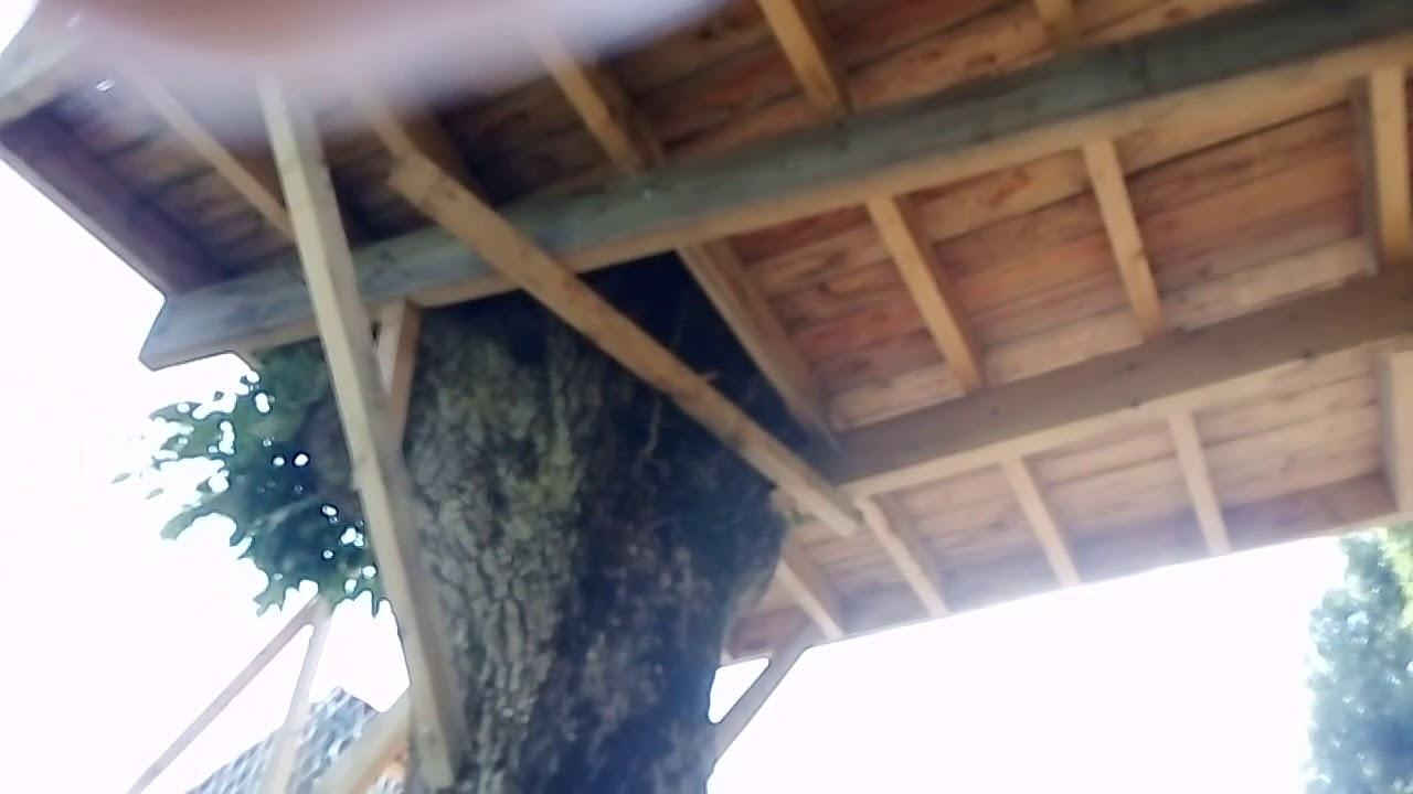 syst me de fixation de ma cabane dans les arbres youtube. Black Bedroom Furniture Sets. Home Design Ideas