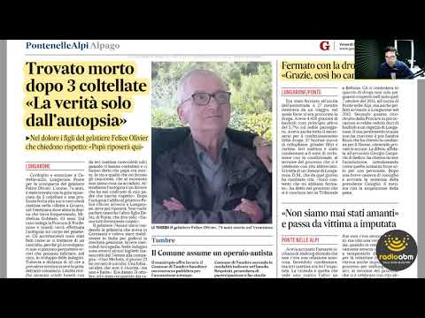 Edicola Belùn di venerdì 15 novembre 2019 con la...
