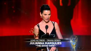 Julianna Margulies wins an Emmy for The Good Wife 2014