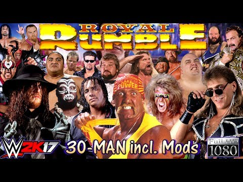 WWE 2K17: Oldschool WWF ROYAL RUMBLE