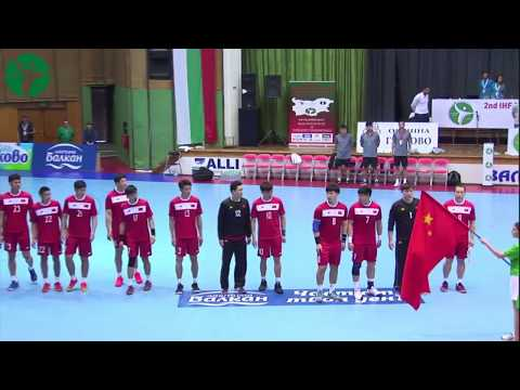 China - Faroe Islands 13:46 (7:20) Group D | 2nd IHF Men's Emerging Nations Championship, Bulgaria