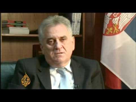 Srebrenica 'not genocide', says Serbia leader