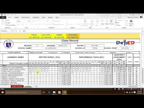 Integrated School Forms Version 4 | K to 12 ECR Part 1 of 4 |