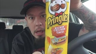 Carbs - Pringles Food Truck Flavors Kickin' Chicken Taco