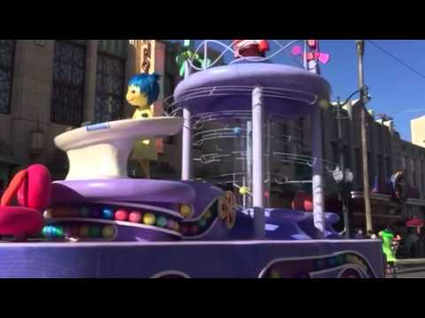 Inside out parade