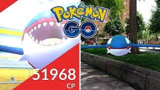 PRIMERAS INCURSIONES DE KYOGRE EN BUSCA DEL SHINY! [Pokémon GO-davidpetit]