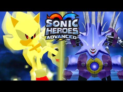 Sonic Heroes Advanced: Super Sonic Vs Metal Madness