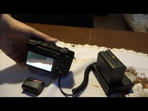 Sony 6300   zasilanie 9600 mAh