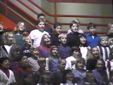 2019.04.30 - North Webster Elementary School Christmas program 1995 / Ben Plikerds Minute