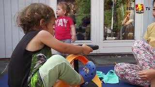 Kasseløbet: Hjulmand besøger Børnehuset SIV