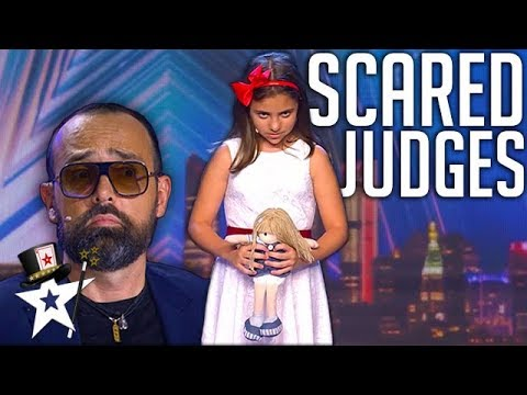 Little Girl Terrifies Judges on Spain's Got Talent 2019 | Magicians Got Talent