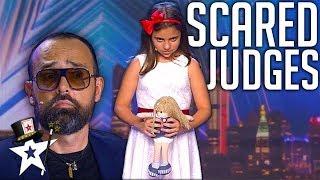 Little Girl Terrifies Judges on Spain's Got Talent 2019 | Magicians Got Talent