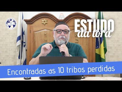 Encontradas As 10 Tribos Perdidas | Estudo Da Torá | Rosh Gilberto Branco