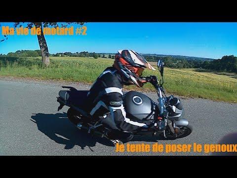 Balade à moto #2 : je tente de poser le genoux