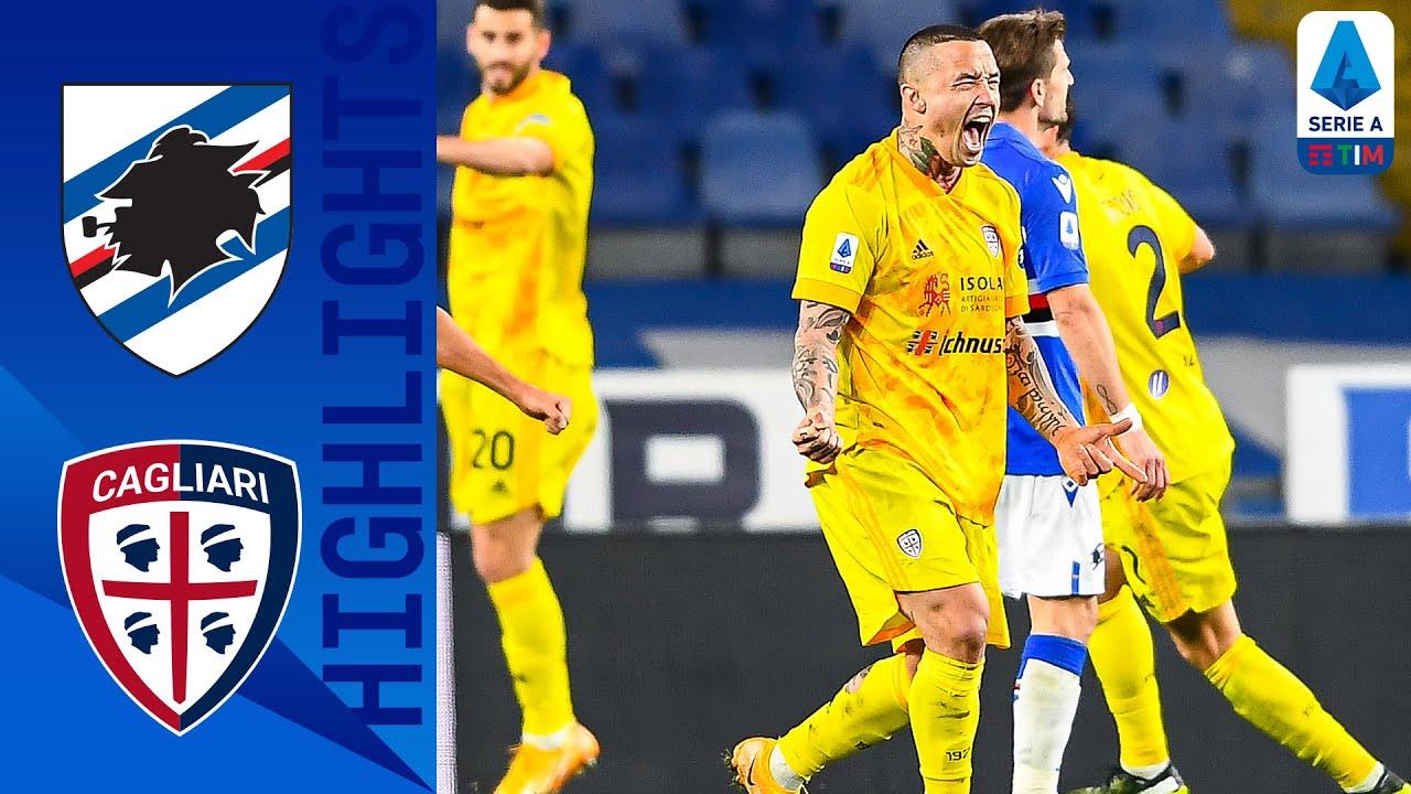 Sampdoria 2-2 Cagliari | Pareggio all'ultimo minuto per il Cagliari! | Serie A TIM