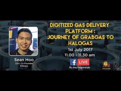 Halogas : Digitized gas delivery platform, journey of grabgas to halogas | Sean Hoi