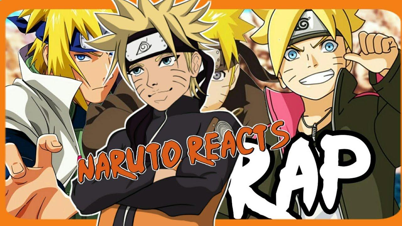 Naruto Reacts To Minato, Naruto, & Boruto Rap Rustage