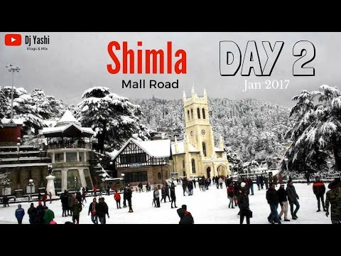 Shimla Trip | Mall Road | Jan 2017 | Day 2 | Travel Vlog 51
