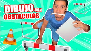 OBSTACLE RACE WITH DRAWINGS !! EXATLON STYLE | WHAT TO DO IN THE QUARANTINE | HaroldArtist