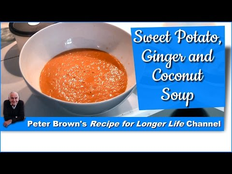 Sweet Potato, Ginger & Coconut Soup | with Peter Brown
