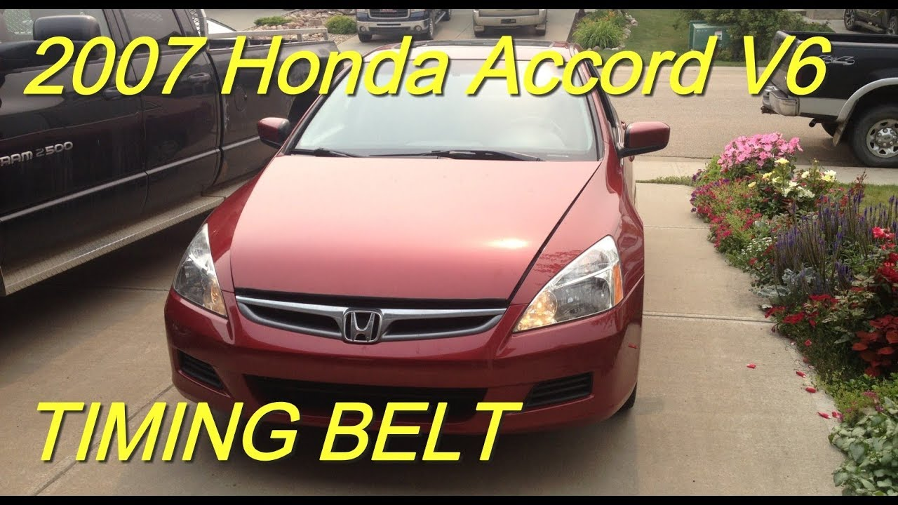 hight resolution of 2007 honda accord v6 timing belt replacement