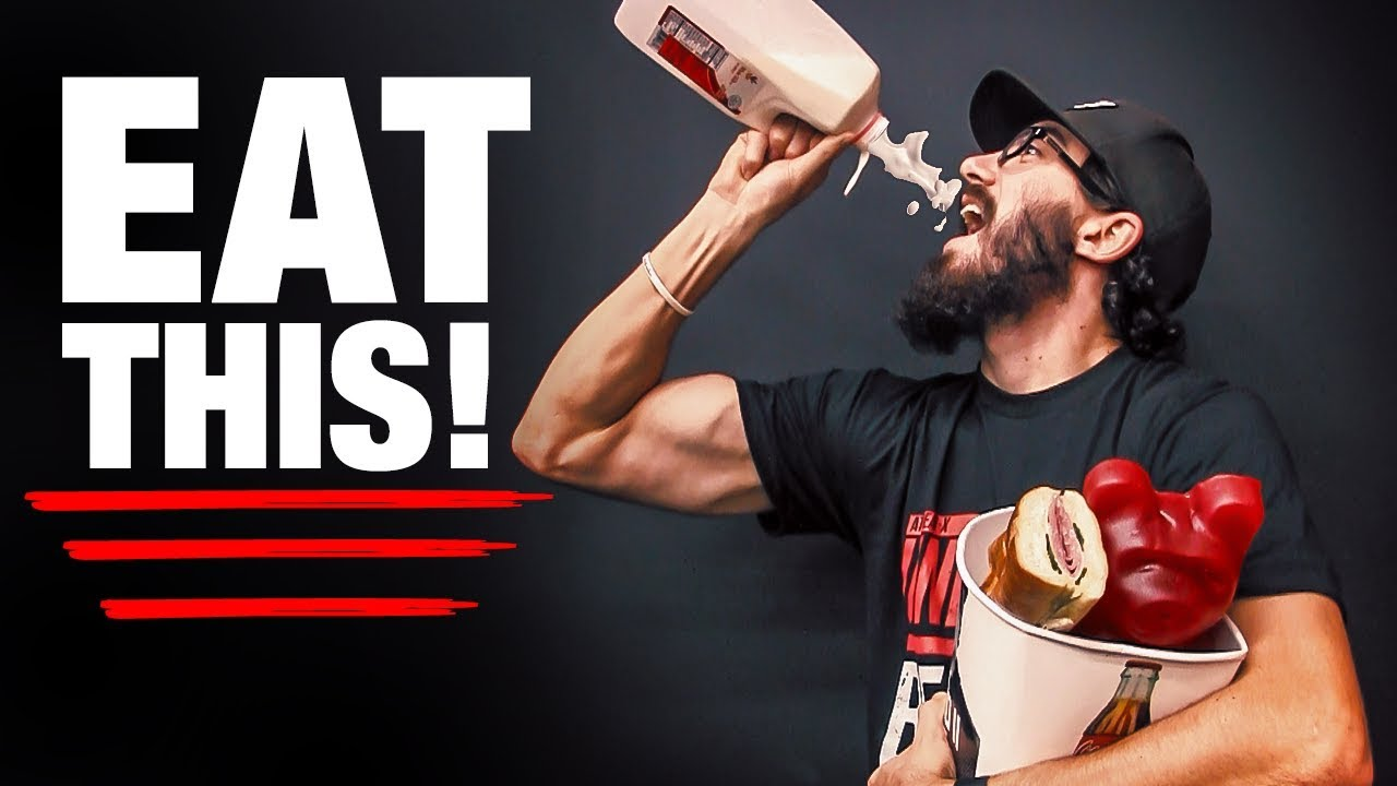 Hardgainer Eating Plan (FULL DAY + TIPS!) ATHLEAN-X™