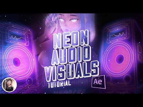 Dope Neon Audio Visualizer in After Effects - Tutorial | Arsacre| 2020