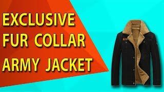 New Male fur collar Army Jacket tactical 2018 #AliExpress #AliAddict